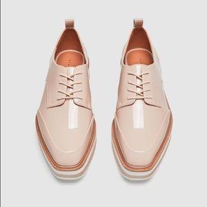 Zara Pink Platform Shoes
